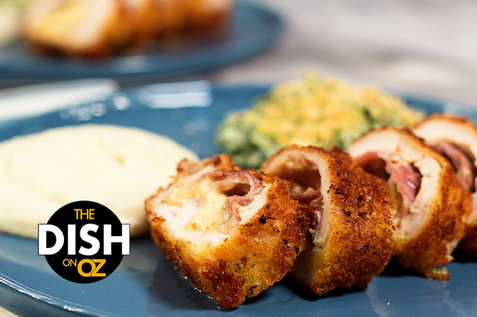 The Dish's Cheesy Chicken Roll-Ups