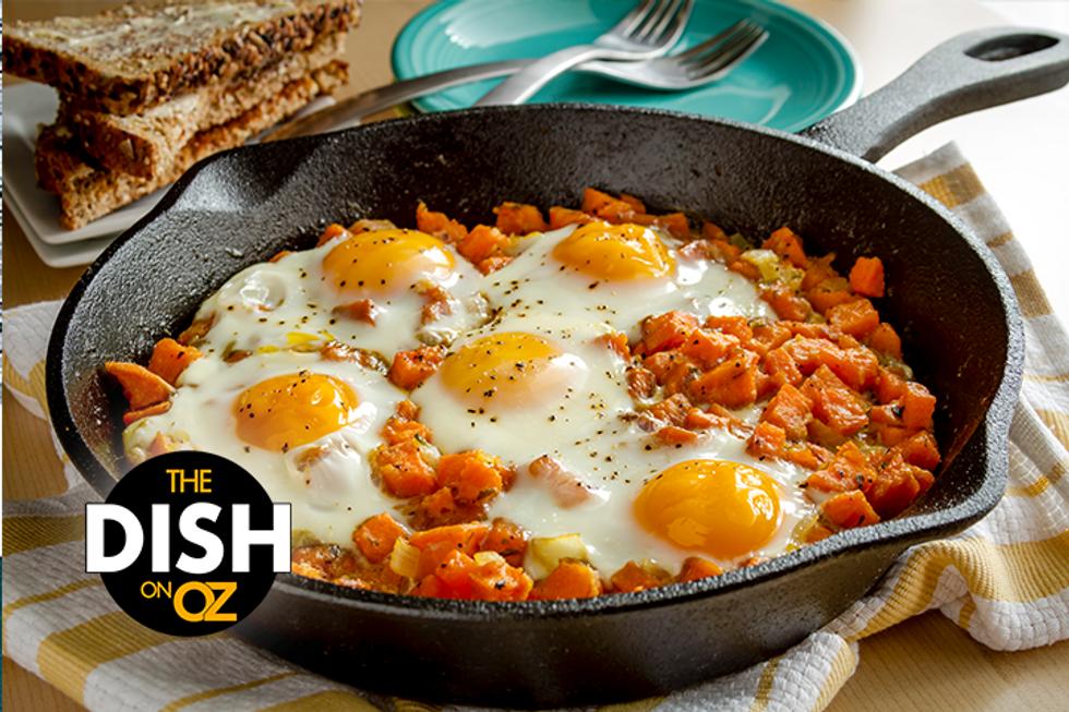 The Dish's Sweet Potato Breakfast Skillet