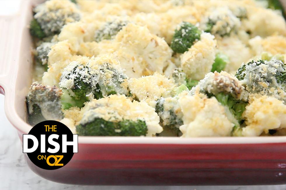 The Dish's Cheesy Broccoli & Cauliflower Bake