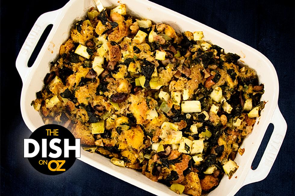 Daphne Oz's Mushroom Kale Stuffing
