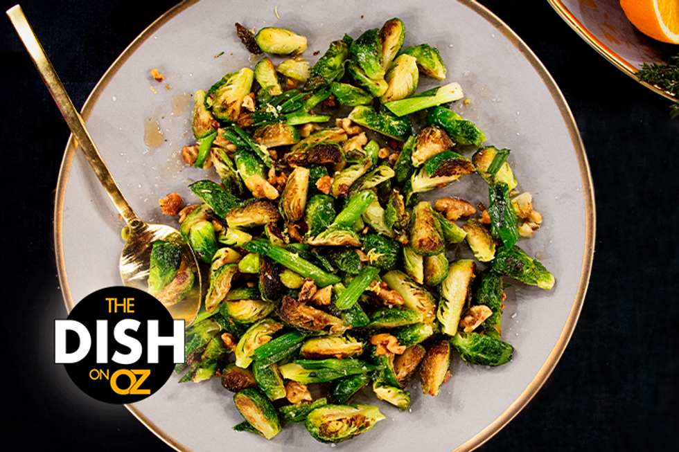 Jamika Pessoa's Maple-Glazed Brussels Sprouts