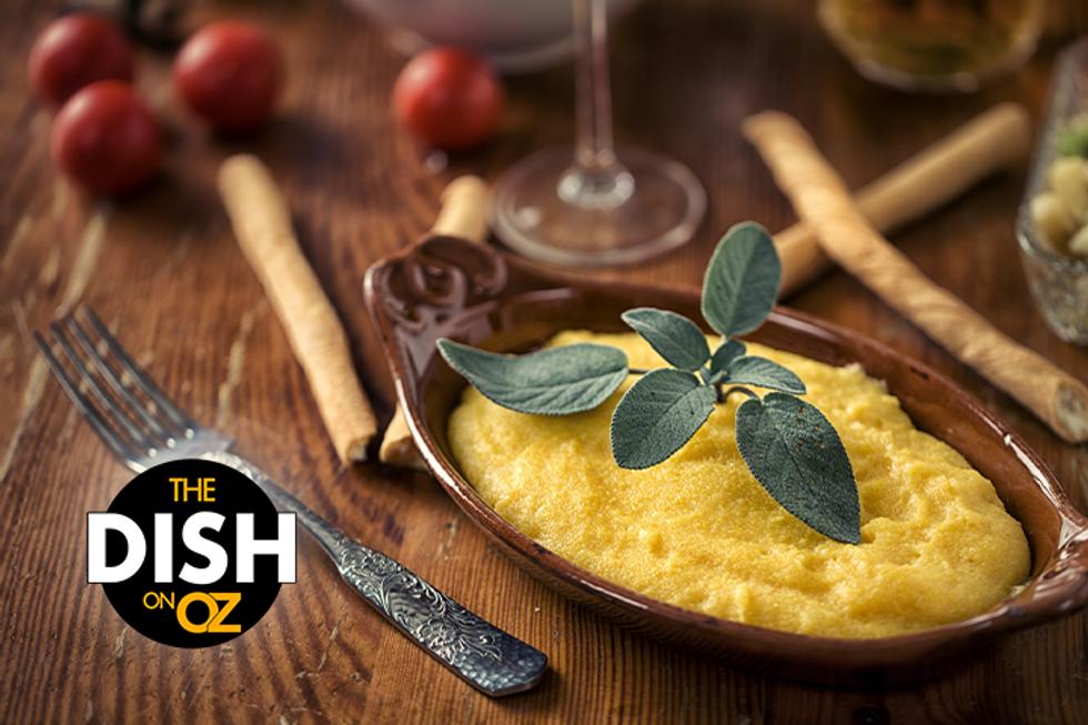 The Dish's Soft Polenta