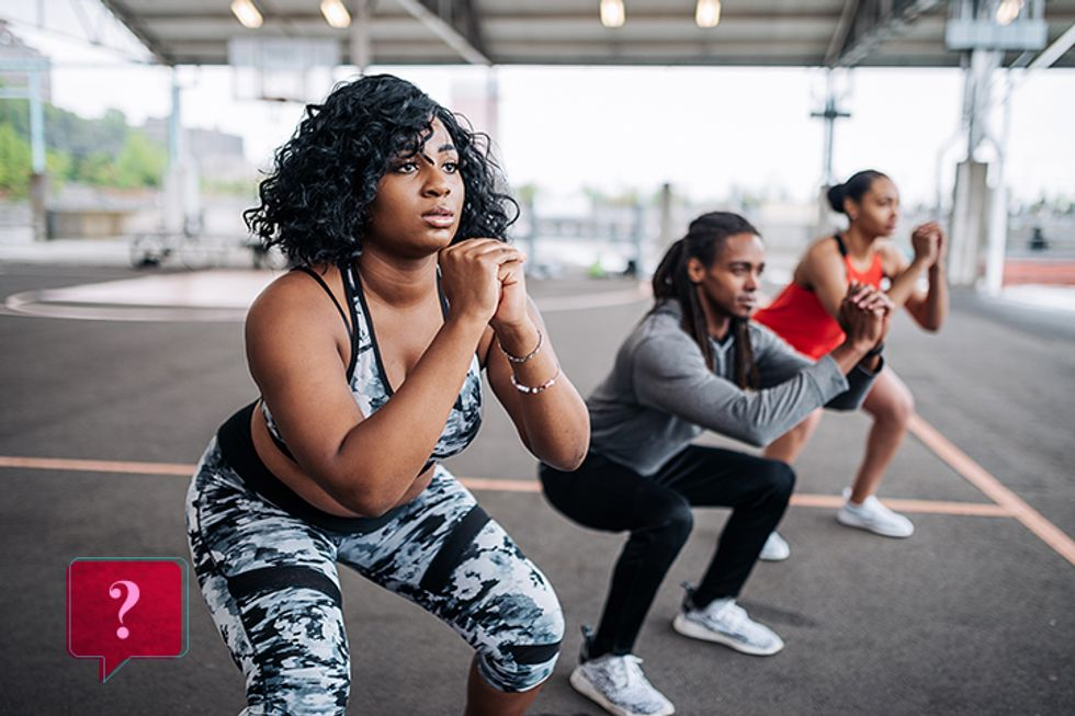 You've Been Doing Squats Wrong (& 3 Other Exercise Move Mistakes)