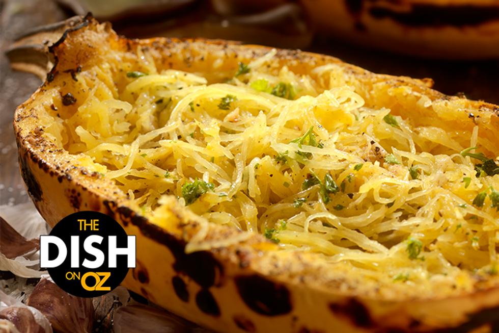 Daphne Oz's Spaghetti Squash Carbonara