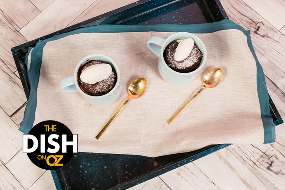 Gail Simmons' Chocolate Lava Mug Cake