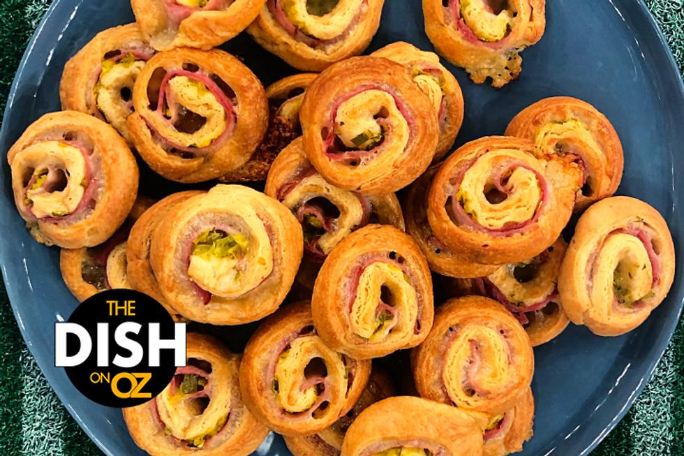 Jamika Pessoa's Cuban Sandwich Pinwheels