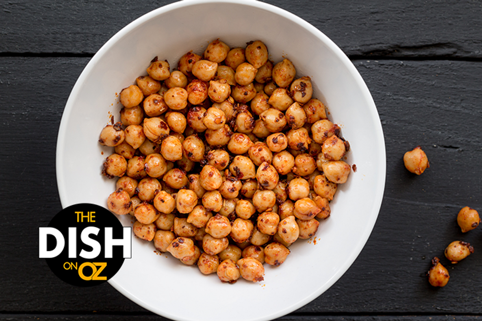 The Dish's Spiced & Roasted Chickpeas