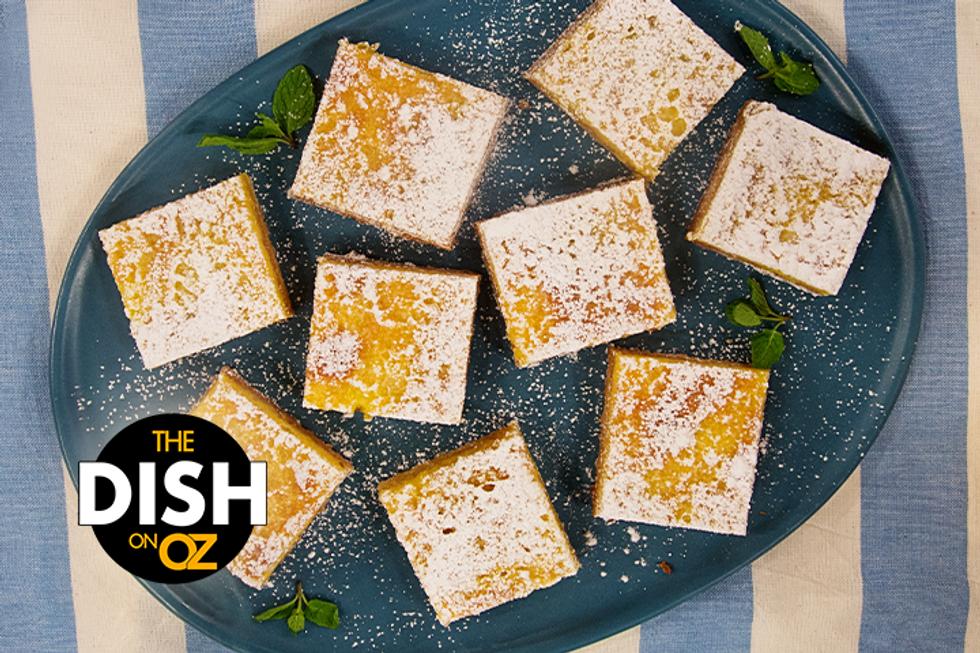 Daphne Oz's Lightened-Up Lemon Bars