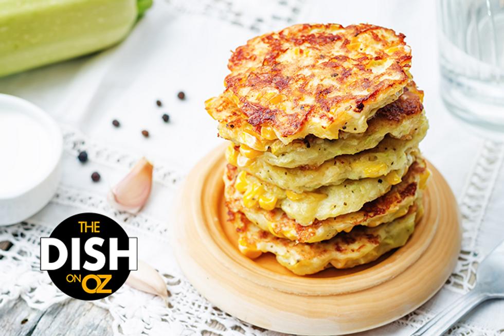 Daphne Oz's Crispy, Cheesy, Veggie Corn Cakes