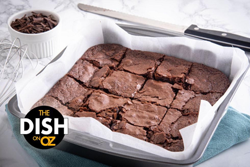 Daphne Oz's Fudgy Brownies