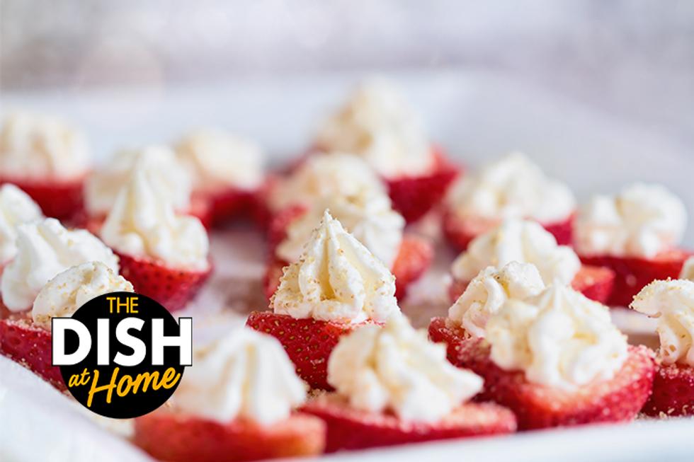 Jamika Pessoa's Stuffed Strawberries