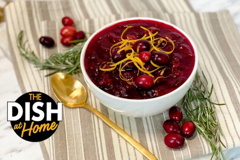 Jamika Pessoa's Thanksgiving Cranberry Sauce