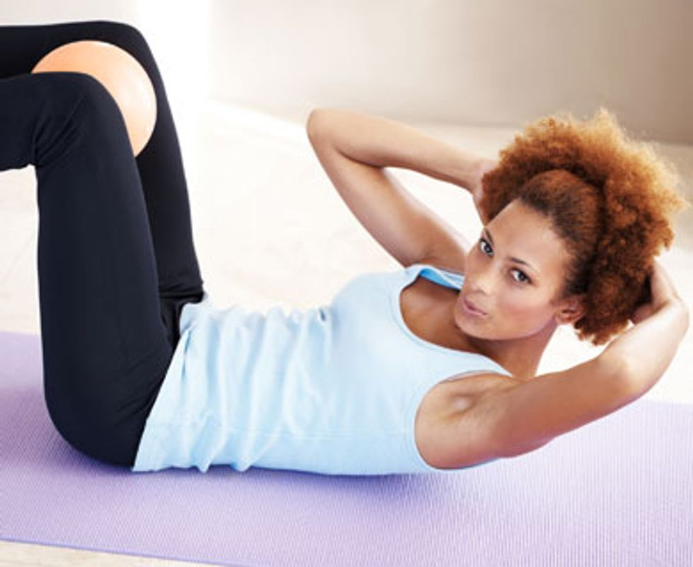 7 Ways to Do Crunches
