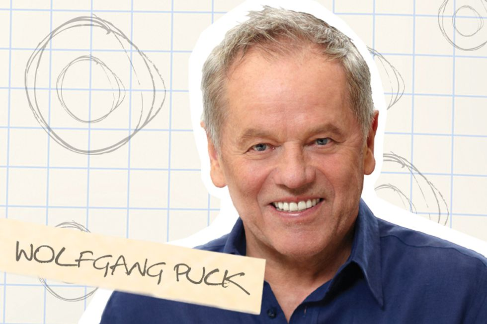 Wolfgang Puck's Lab Book