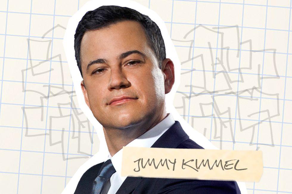 Jimmy Kimmel's Lab Book