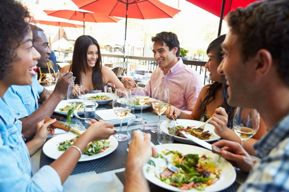 The Hungry Girl's Dining-Out Survival Guide