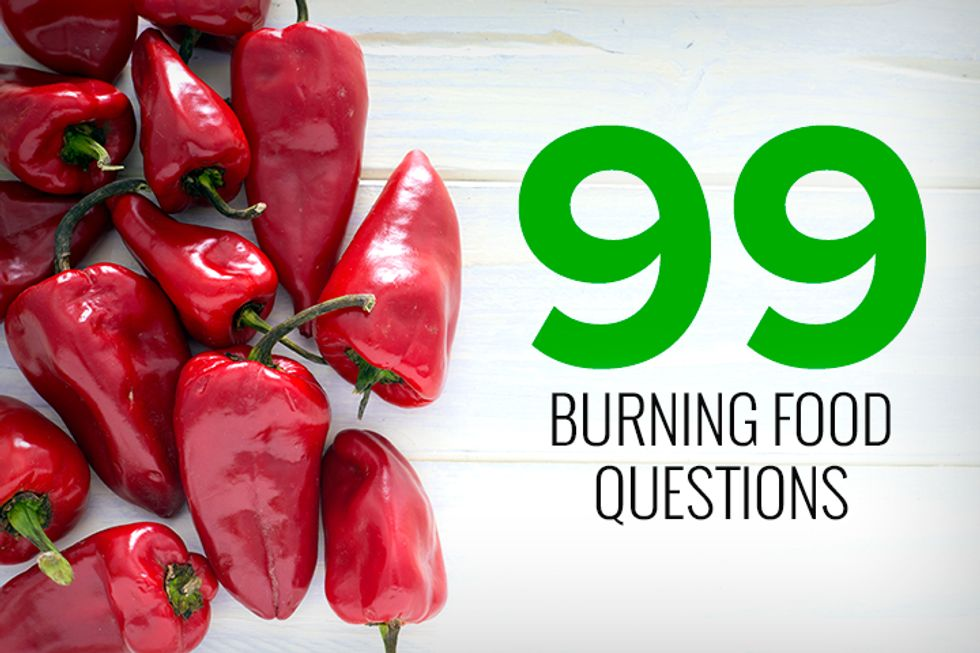 99 Burning Food Questions – Answered!