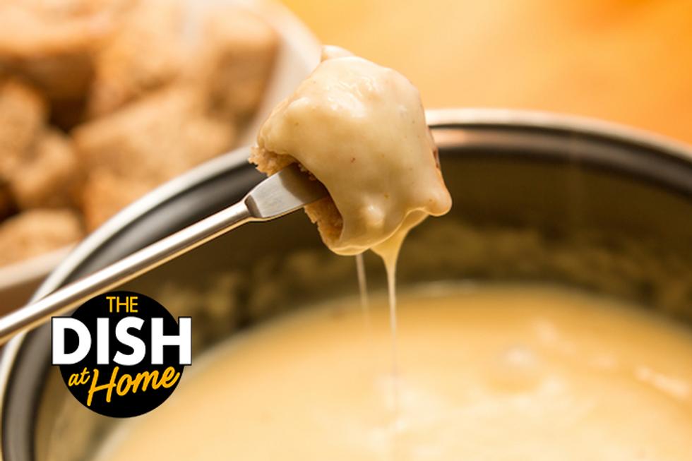 Easy Cheesy Fondue Recipe