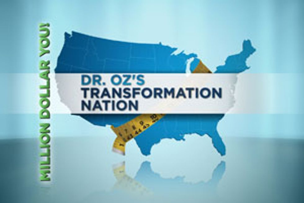 """The Emmy® Award-Winning""""The Dr. Oz Show"""" Reaches  One Million Registrations  For Dr. Oz's Transformation Nation: Million Dollar You"""