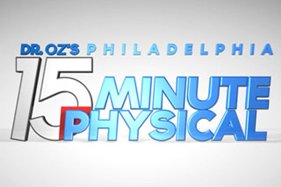 """THE DR. OZ SHOW TO GIVE PHILADELPHIA A """"15 MINUTE PHYSICAL""""  ON MAY 19 IN PARTNERSHIP WITH TEMPLE UNIVERSITY"""