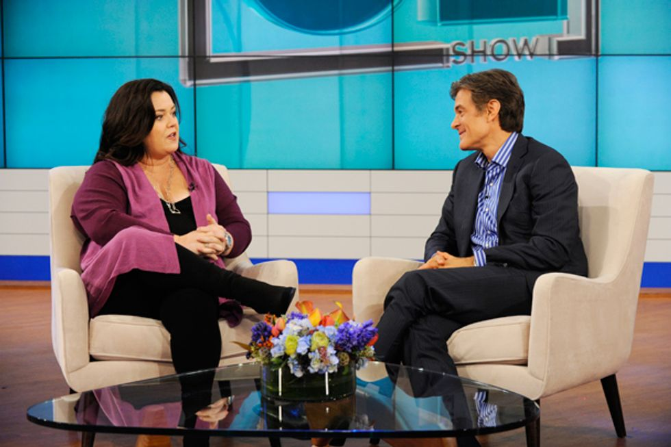 """""""The Dr. Oz Show"""" To Air Exclusive Interview and Examination Of Rosie O'Donnell's Heart Attack"""