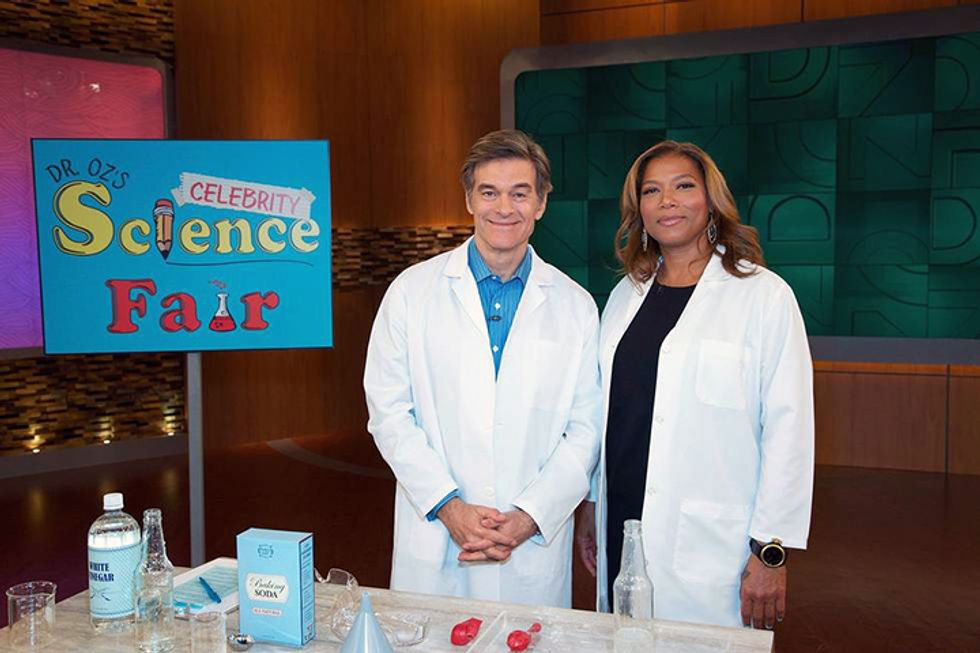 THE DR. OZ SHOW BRINGS THE COOL BACK TO SCIENCE WITH NATIONWIDE SCIENCE FAIR