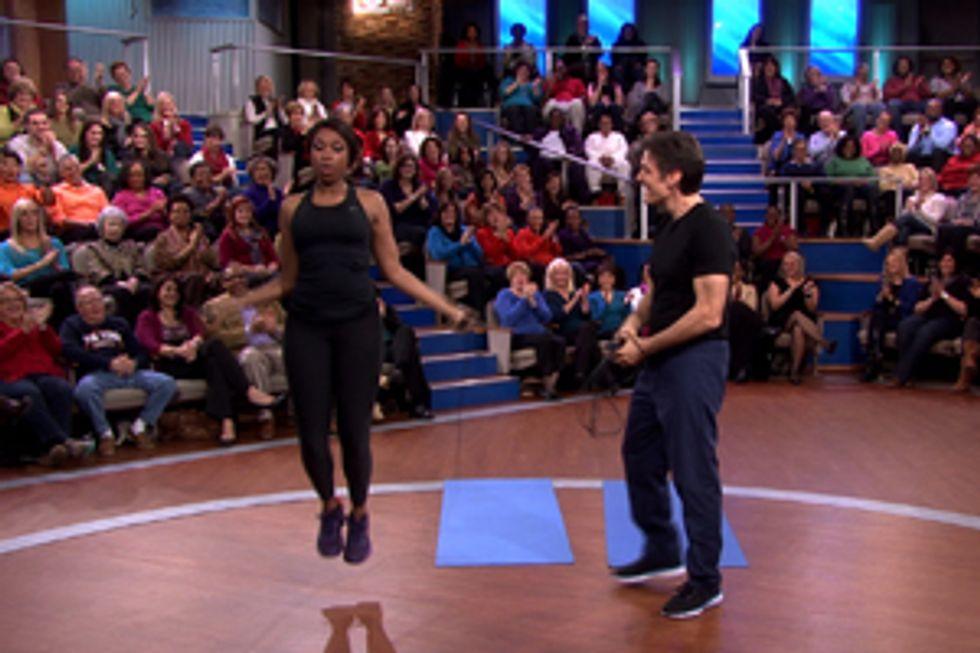Jennifer Hudson's Workout