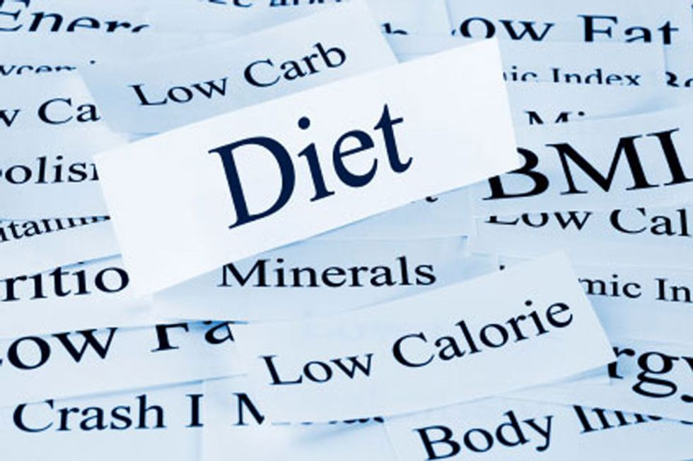 Top 4 Dieting Myths of All Time