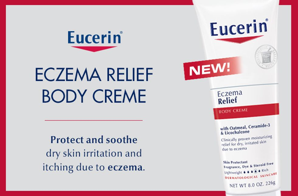 Eucerin Eczema Relief Body Creme Giveaway