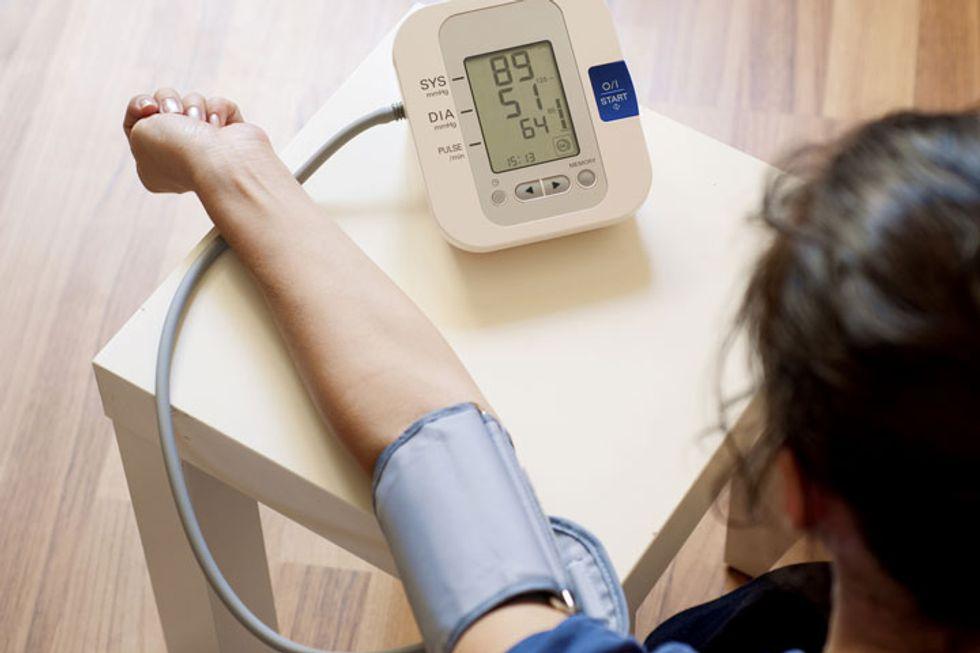 Blood Pressure Tracker One-Sheet