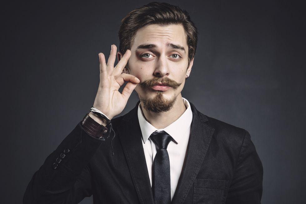 Printable Mustache