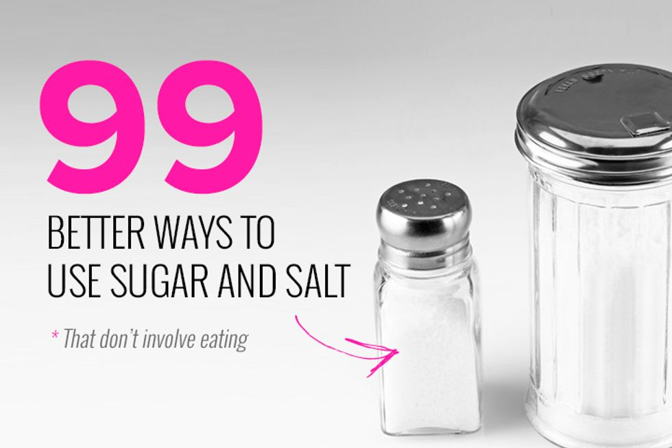 99 Ways to Use Sugar and Salt