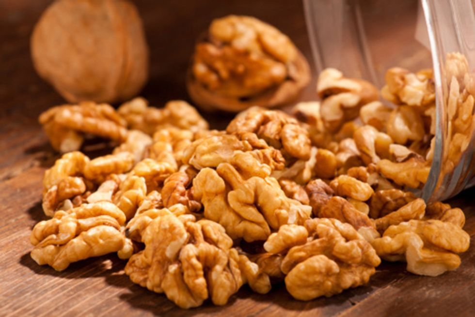 Garlic Rosemary Walnuts