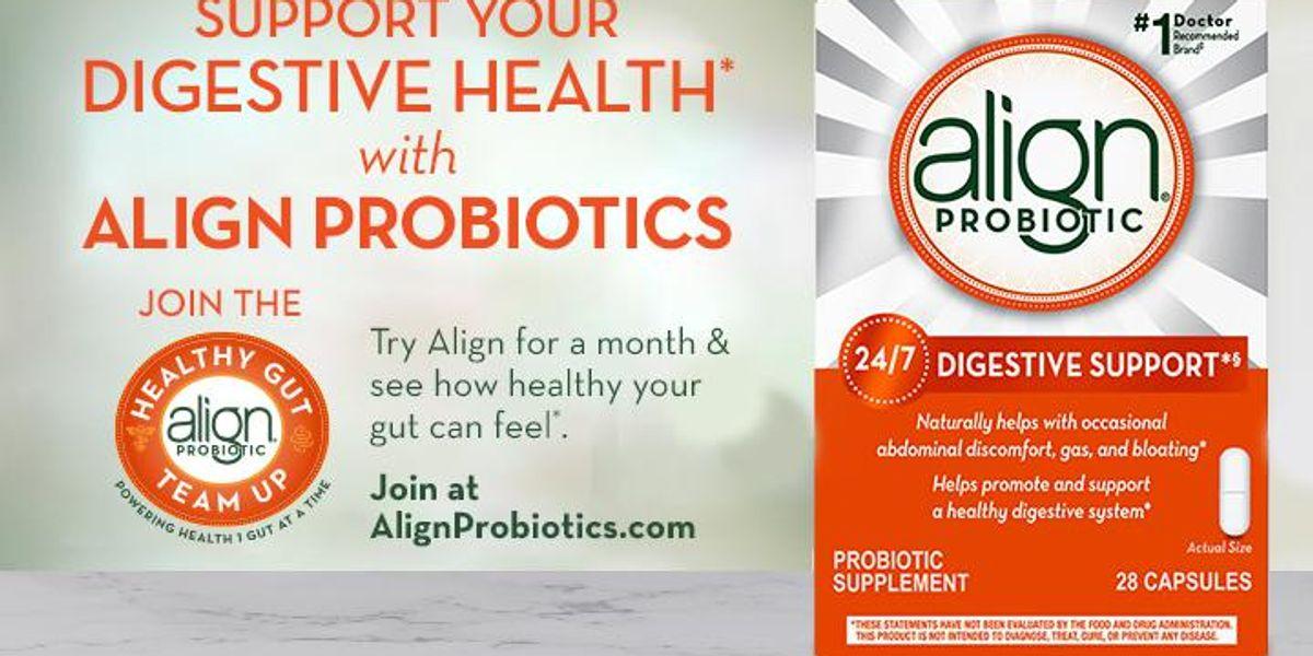 Align Probiotic 24/7 Digestive Support Giveaway