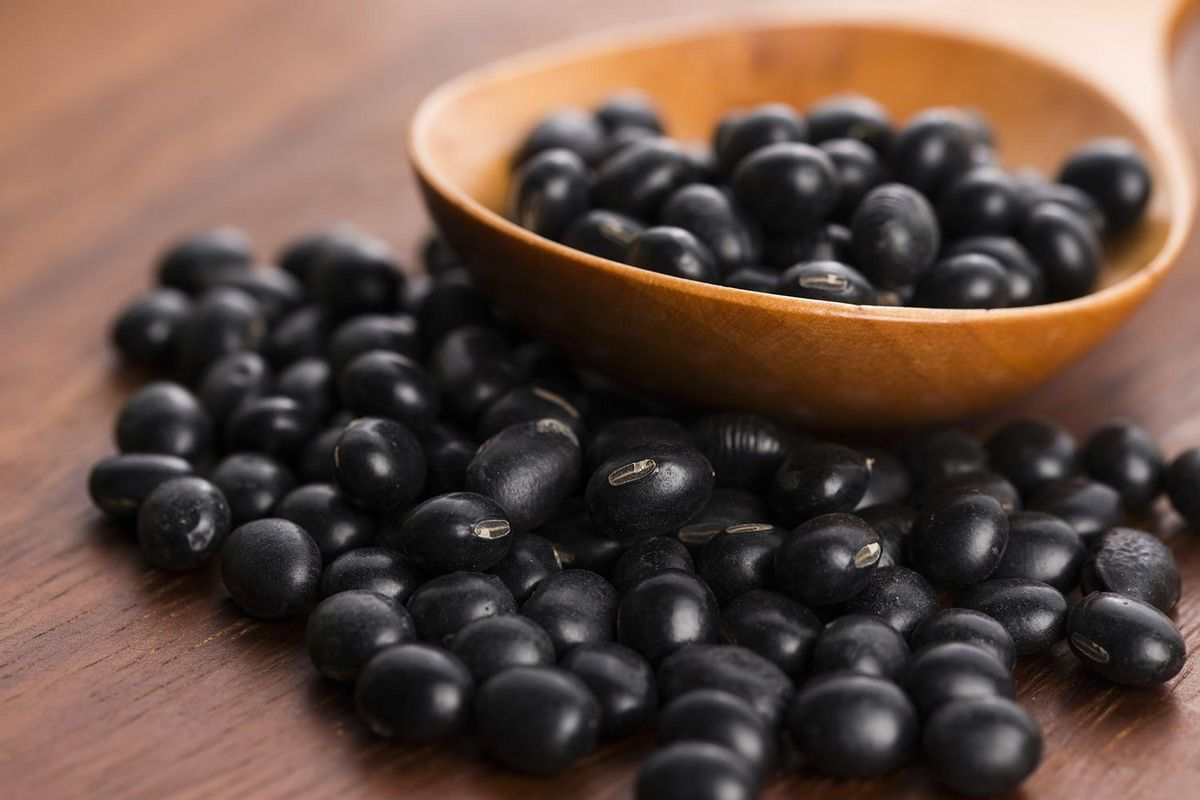 Black Soybeans 5 Ways