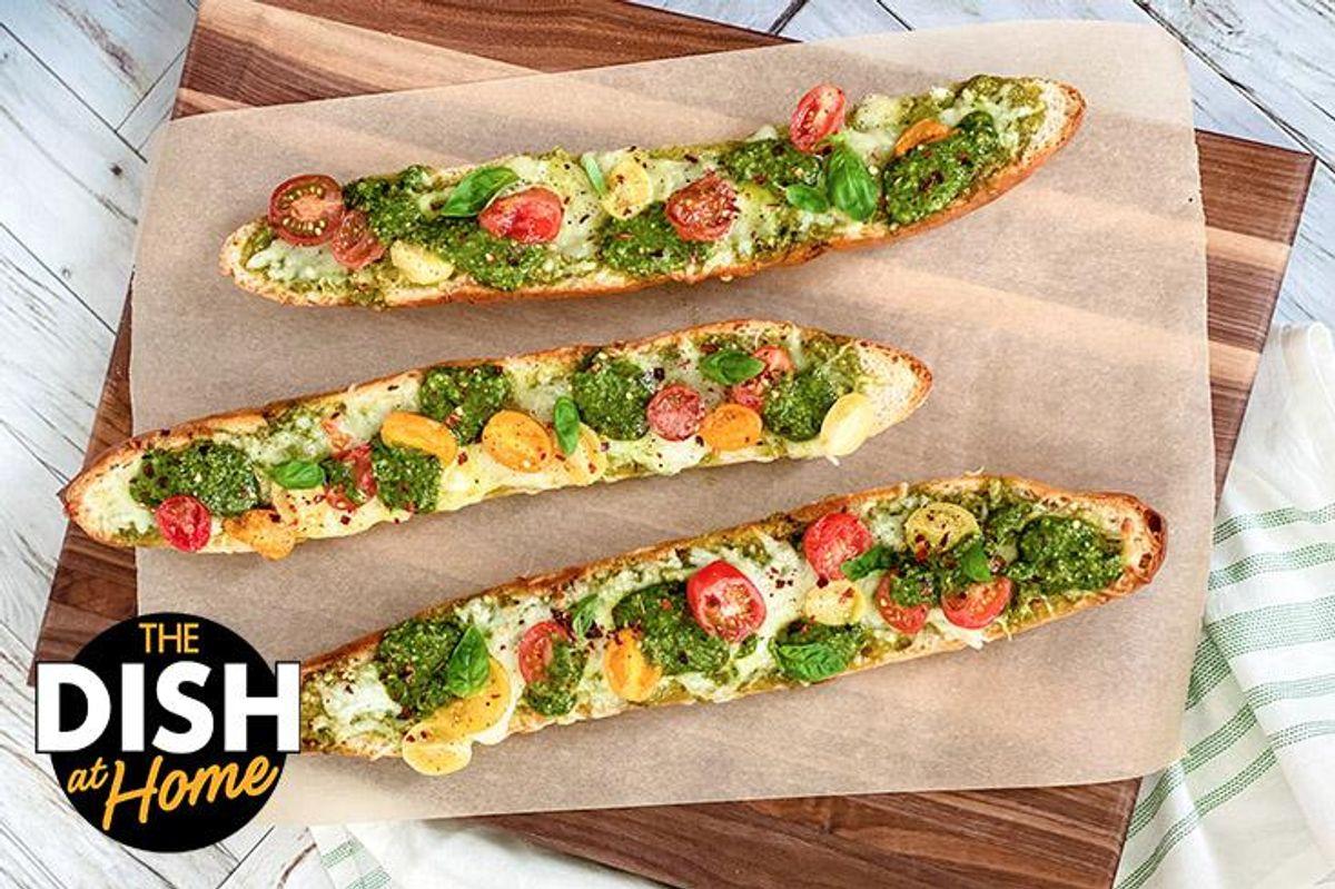 Cheesy French Bread Pizza