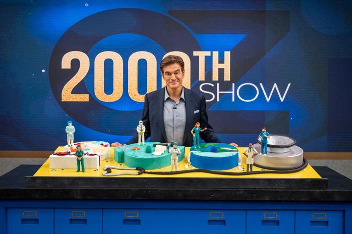 Dr. Oz 2000th show celebration