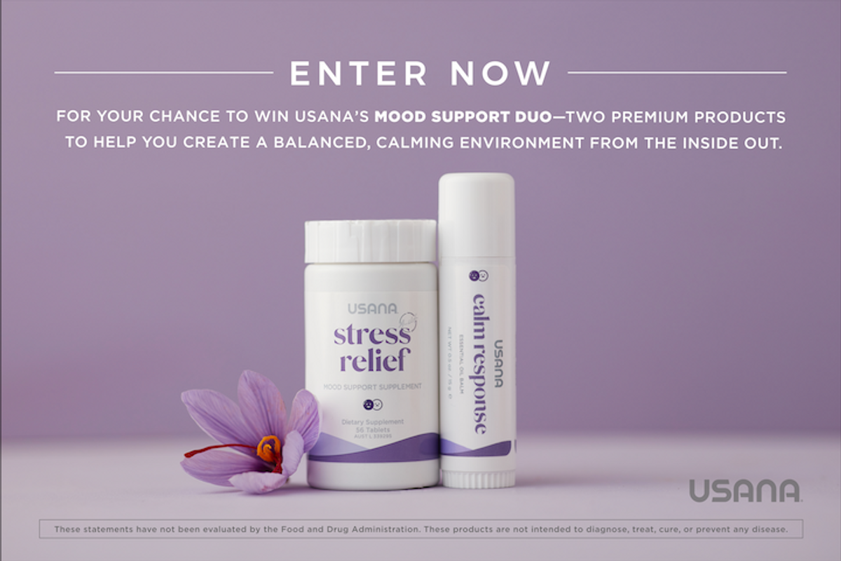The USANA Mood Support Duo Sweepstakes