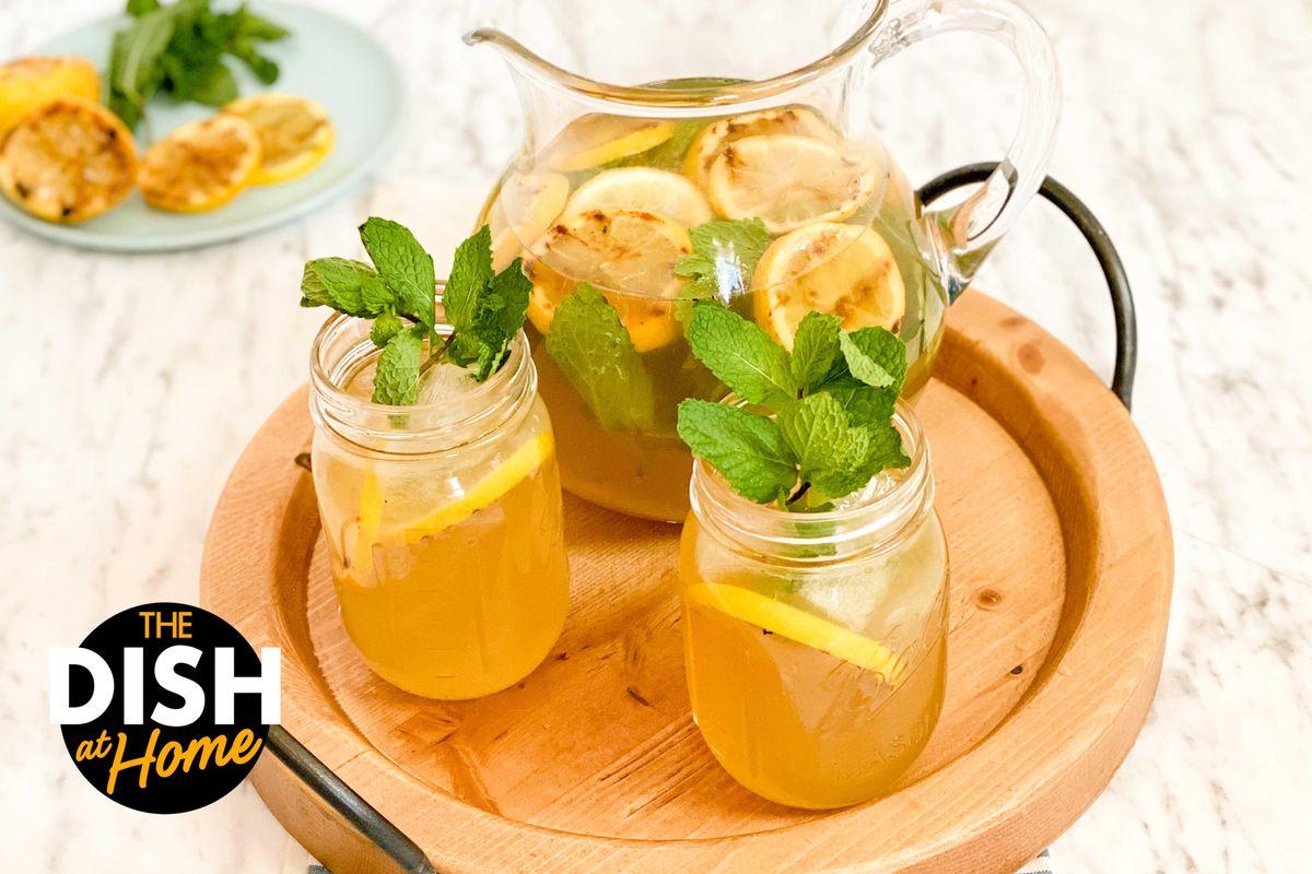 Super Simple Grilled Lemonade
