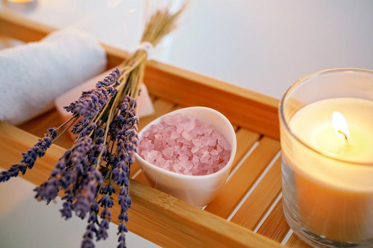 Self-Care Ideas: Detox Bath for Negative Energy