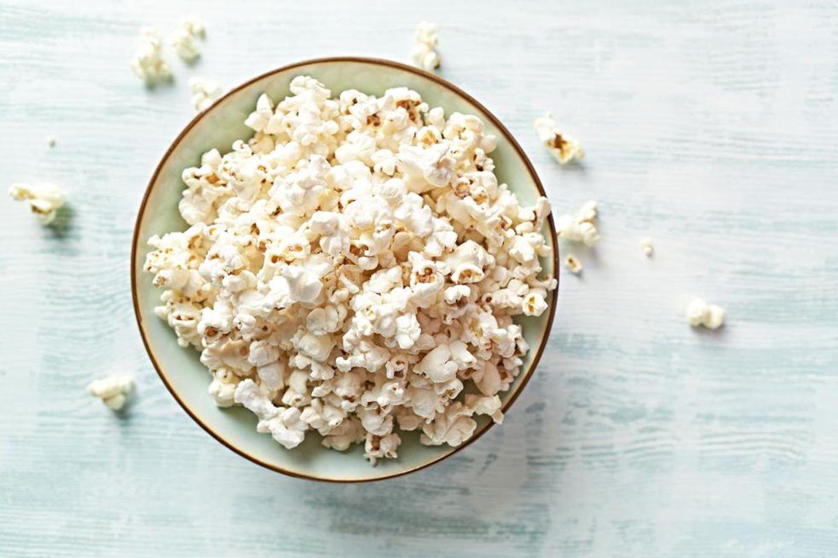 Parmesan Garlic Popcorn Croutons