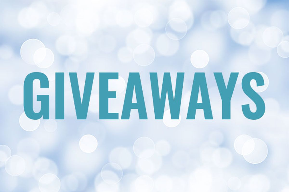 Check back soon for upcoming giveaways