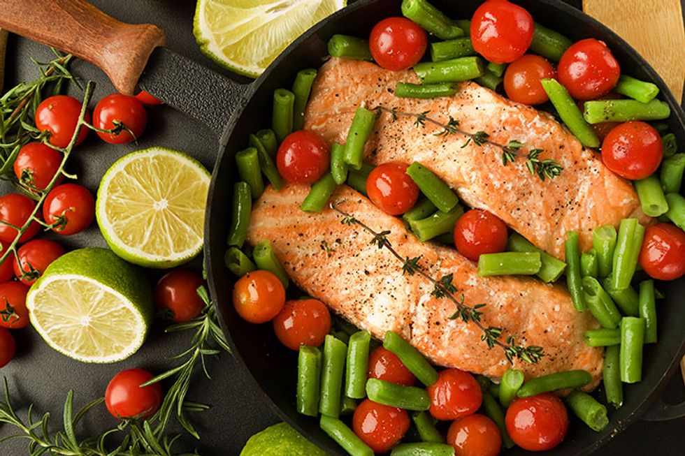 The 21-Day Weight Loss Breakthrough Diet Roasted Salmon