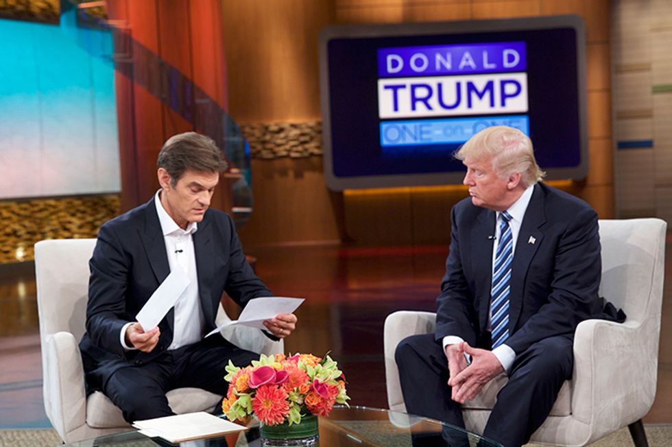 Donald Trump Releases Medical Records For The First Time On The Dr. Oz Show Detailing The Results Of His Most Recent Physical Examination