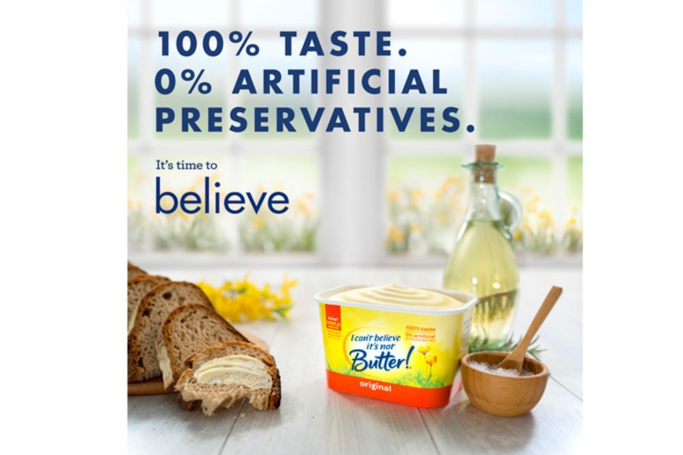 I Can't Believe It's Not Butter!® Giveaway: Get A Coupon!