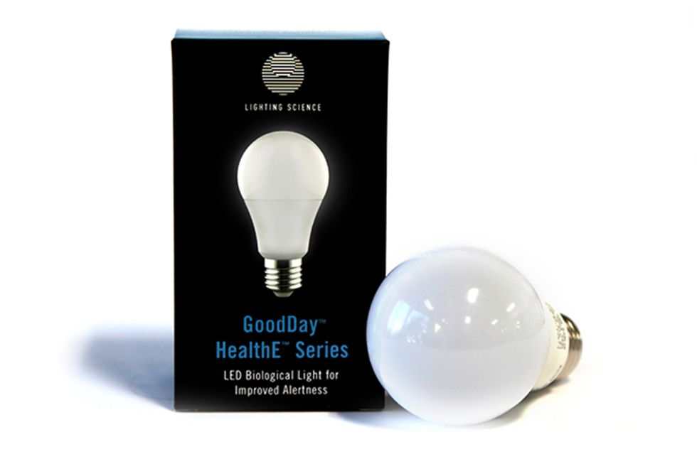 Enter for a Chance to Win: A GoodDay® Bulb by Lighting Science