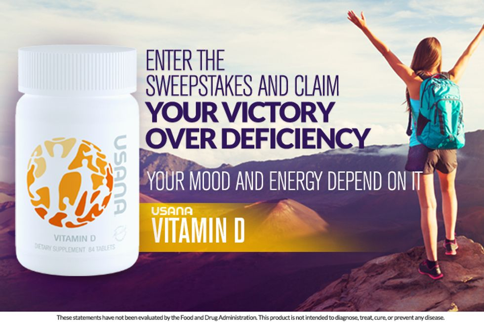 USANA® Vitamin D: Enter for a Chance to Win!