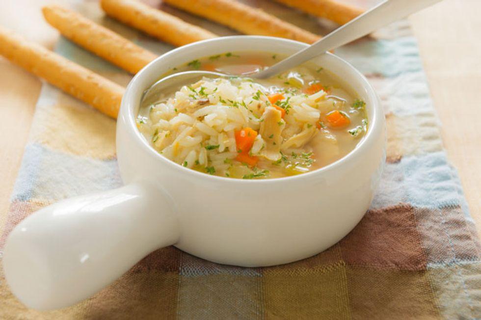 Shredder Chicken Noodle Soup