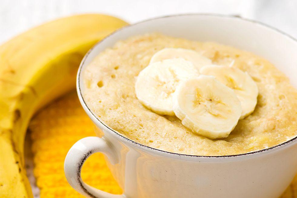 Coconut Banana Quinoa Breakfast Mug