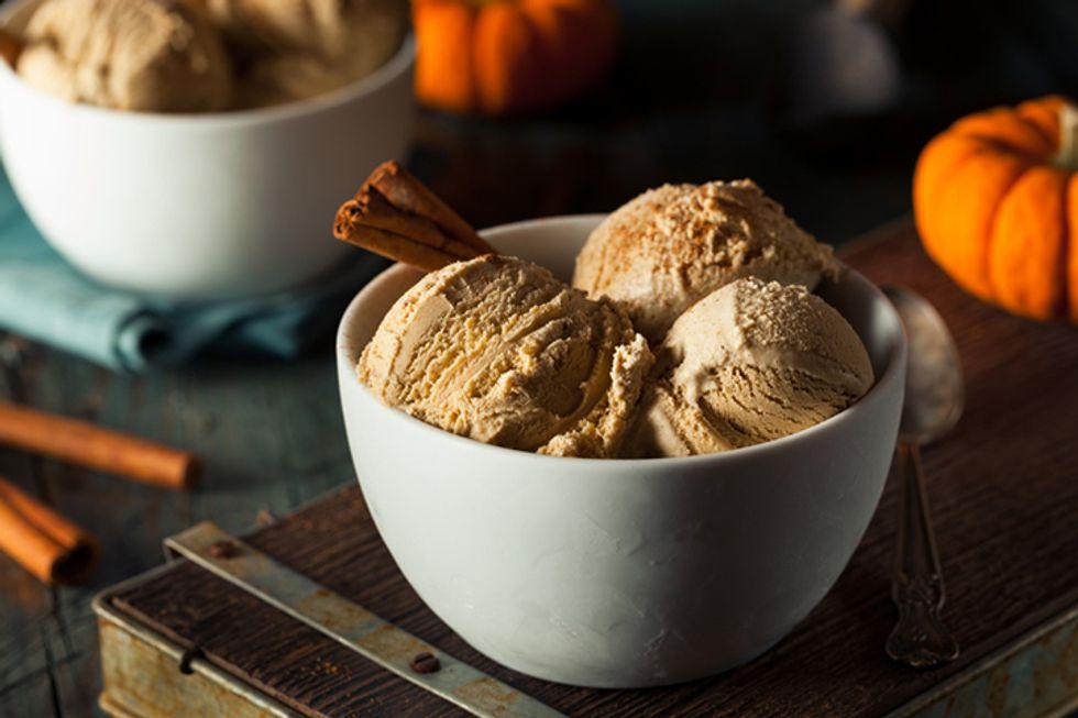 Pumpkin Spice Ice Cream